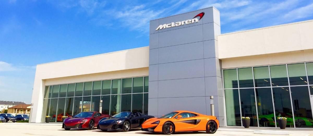 McLaren dealerships