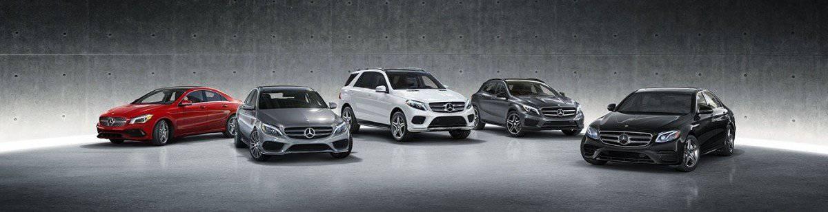 Mercedes-Benz car lineup