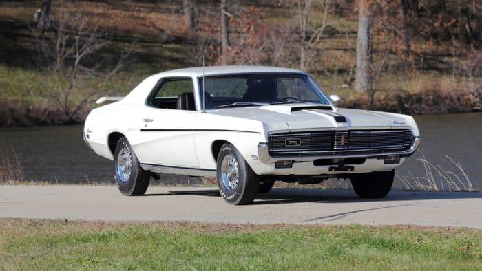 1969 Mercury Cougar Eliminator Front 3/4