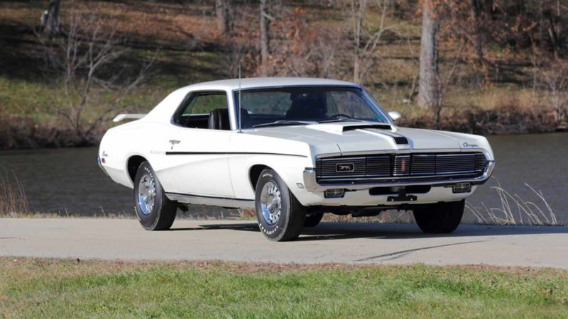 1969 Mercury Cougar Eliminator Front 3/4