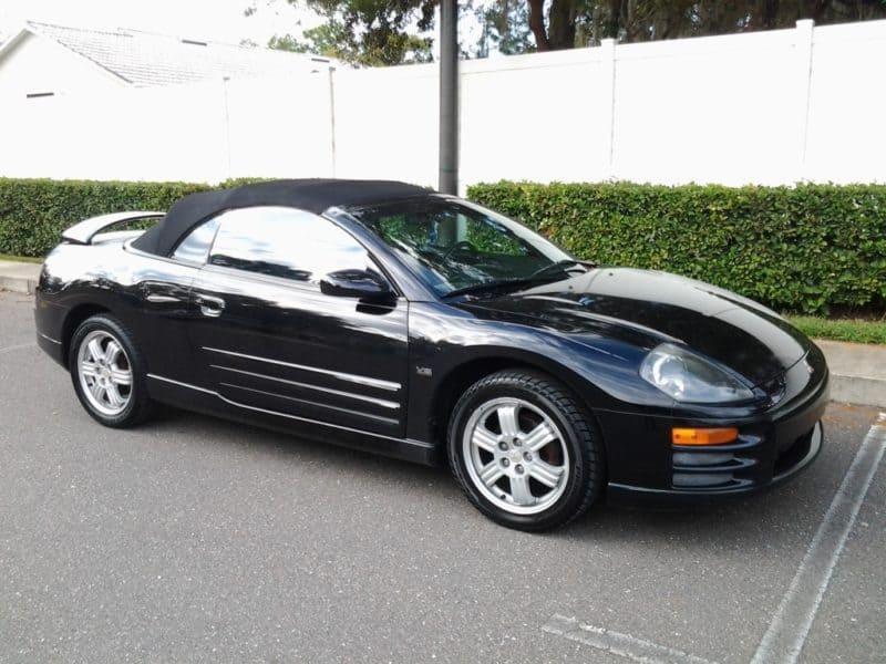 Mitsubishi Eclipse Automatic Side View