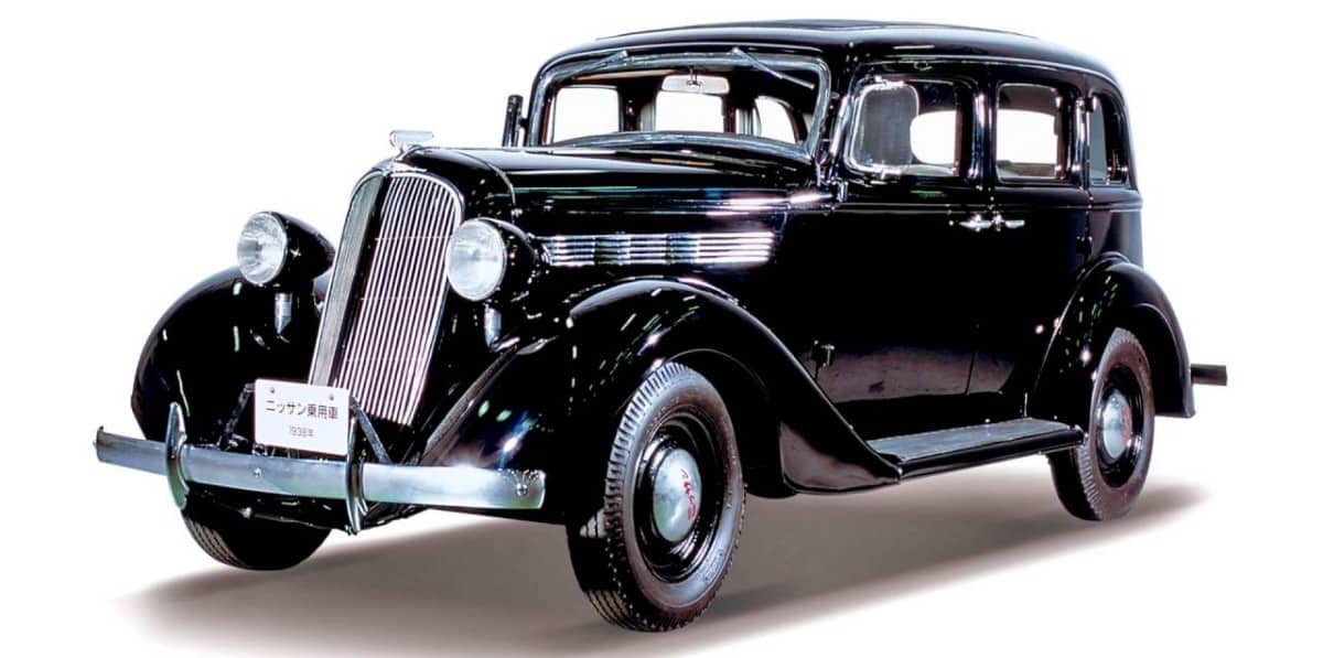 1937 Nissan 70 - driver side view