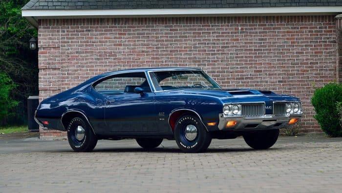 1970 Oldsmobile 442 Front 3/4
