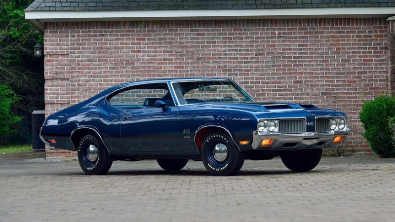 1970 Oldsmobile 442 Front 3/4