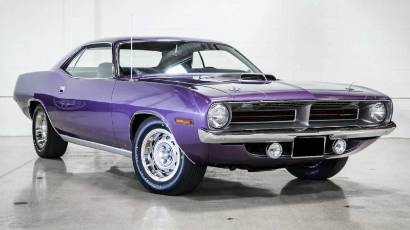 Plymouth Barracuda Front 3/4