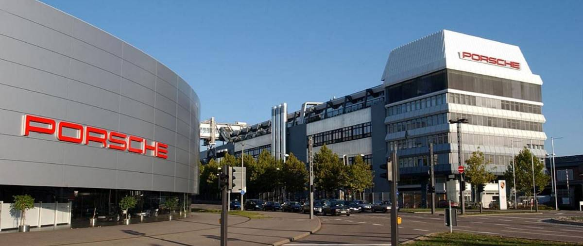 Porsche Zuffenhausen Headquarters