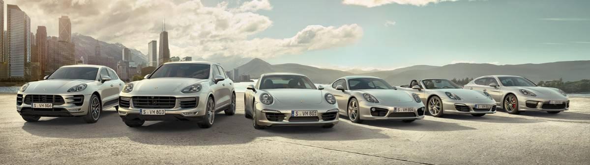 Porsche Model Lineup - Porsche