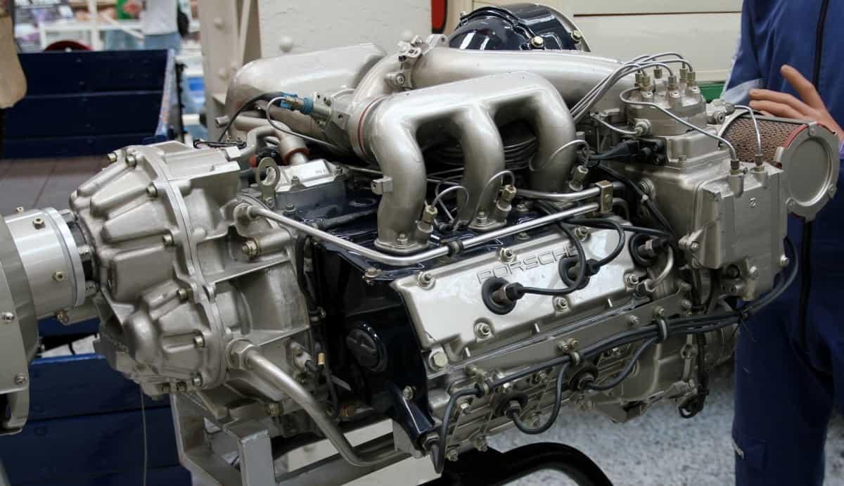 Porsche aircraft engine