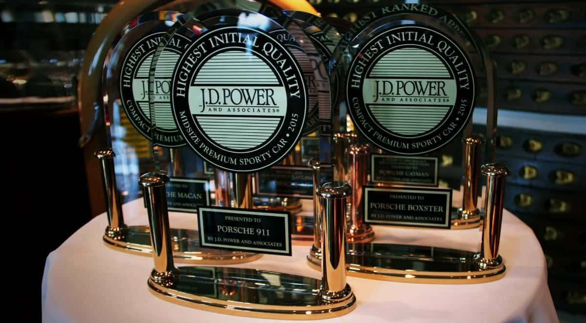 J.D. Power Porsche Awards