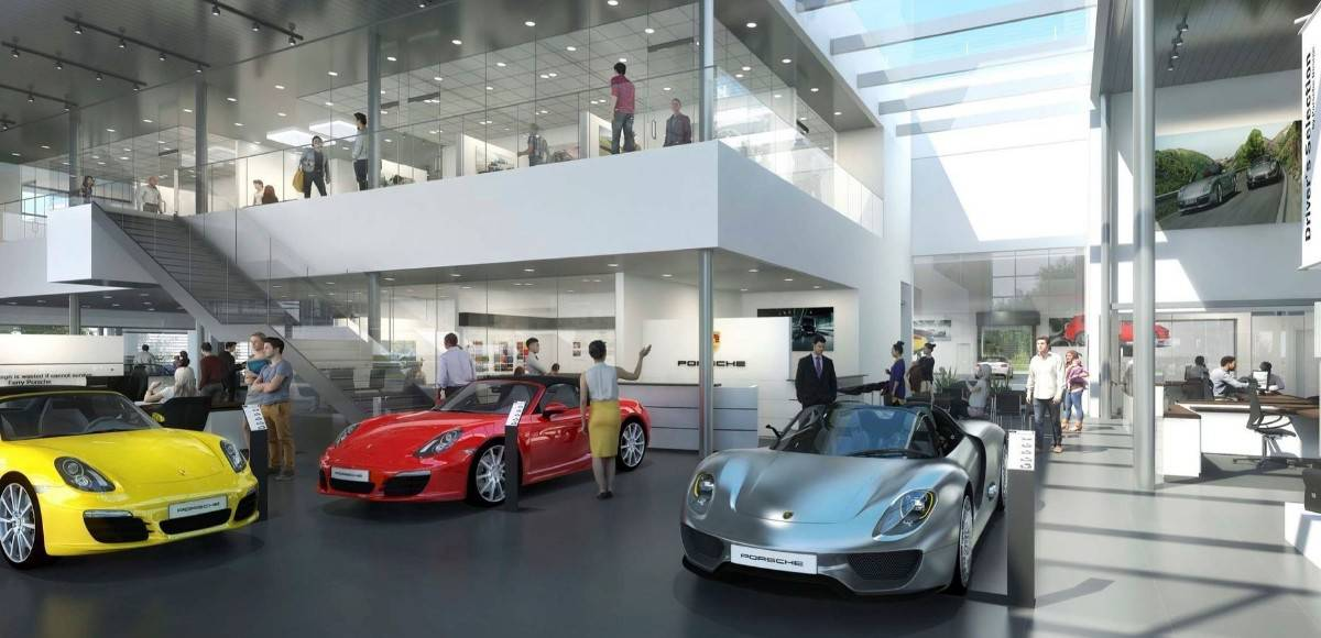 luxury Porsche Dealer