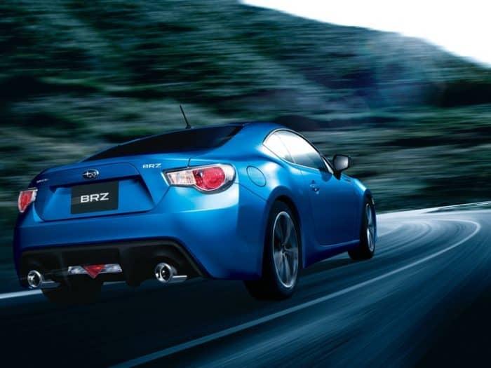 Subaru BRZ rear 3/4