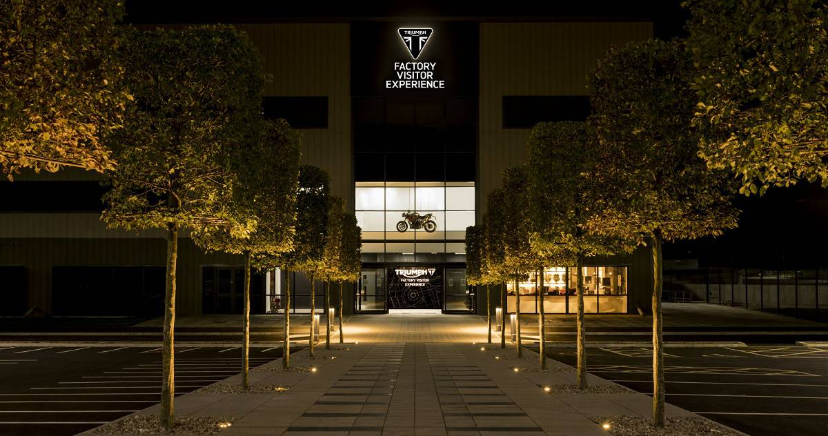 Triumph Factory Tour