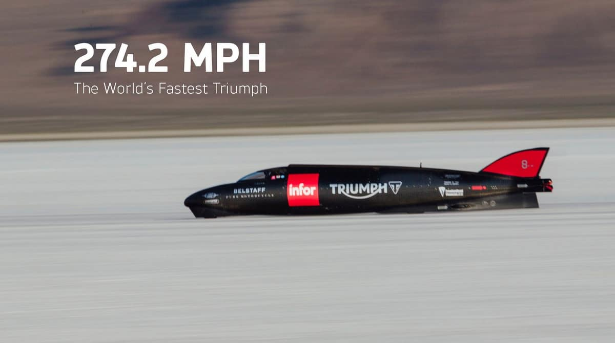 Triumph Land Speed