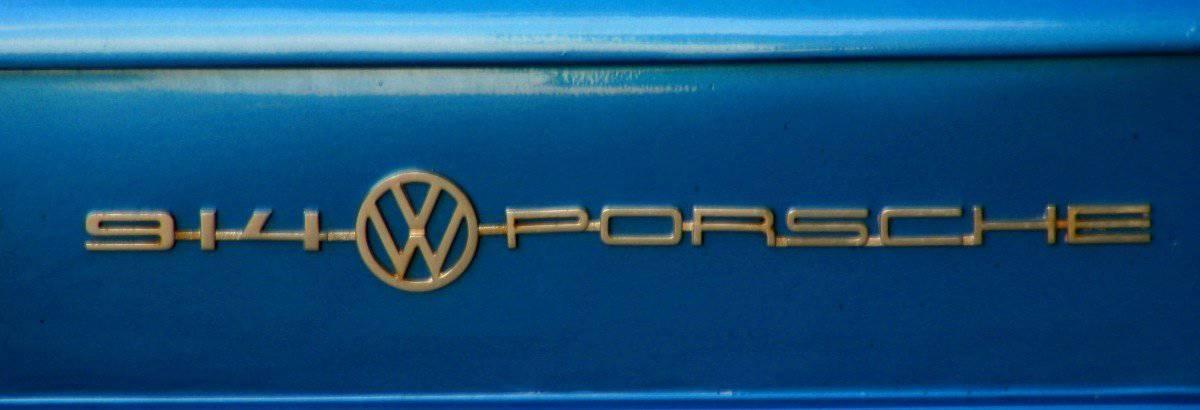 VW Porsche 914 Emblem