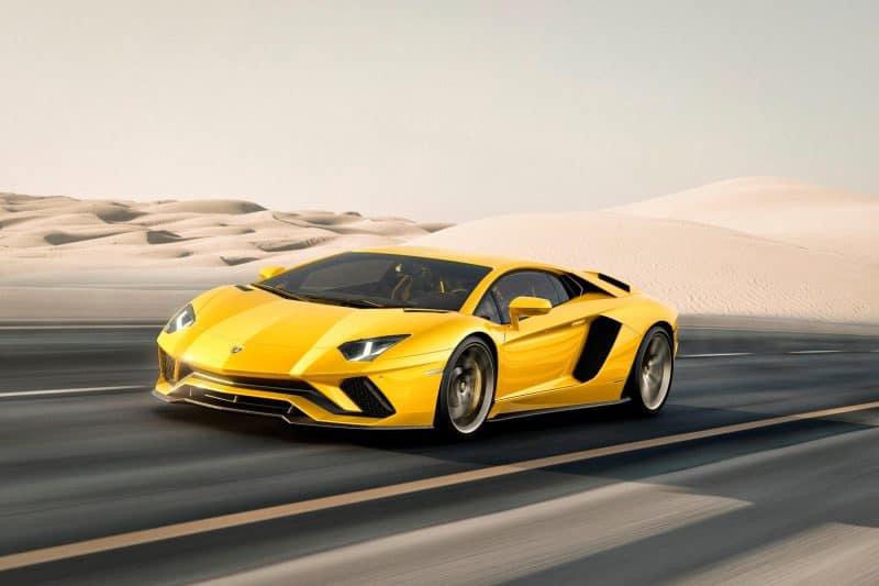 Lamborghini Aventador 740-4 S 3/4 view