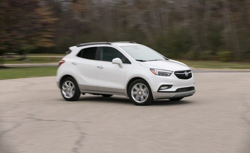 Buick Encore side view
