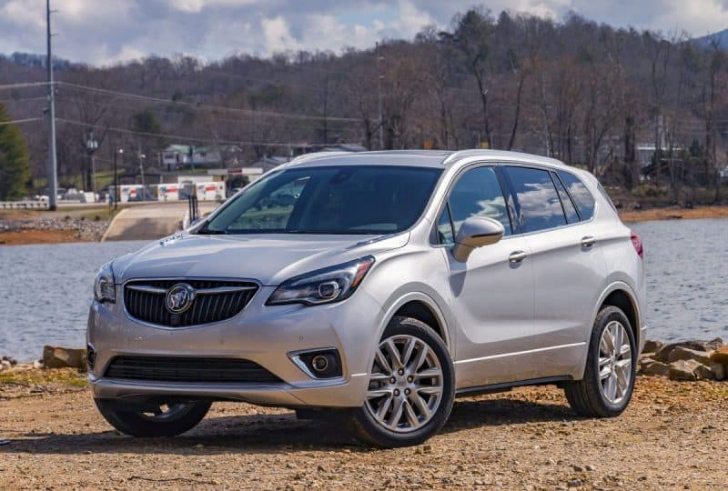 2019 Buick Envision 3/4 view