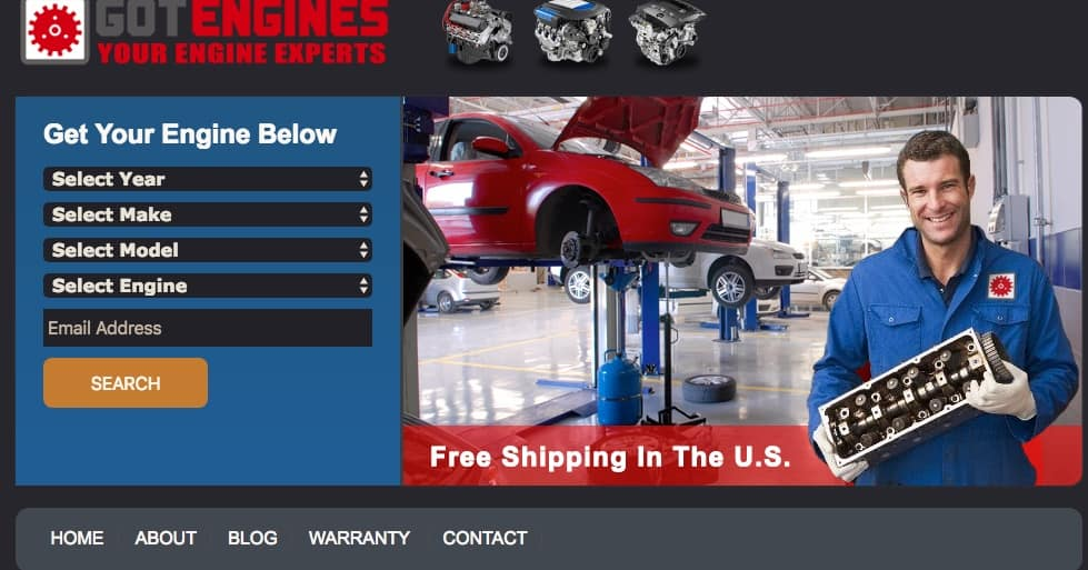 got engines is a great place to find cheap engines