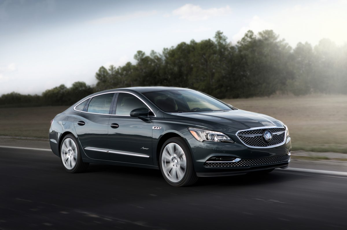 Buick LaCrosse 3/4 view