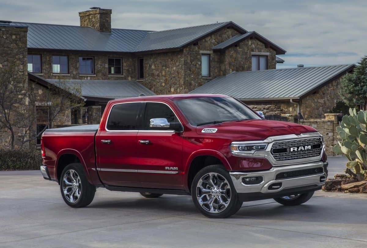 2019 Ram 1500 side view