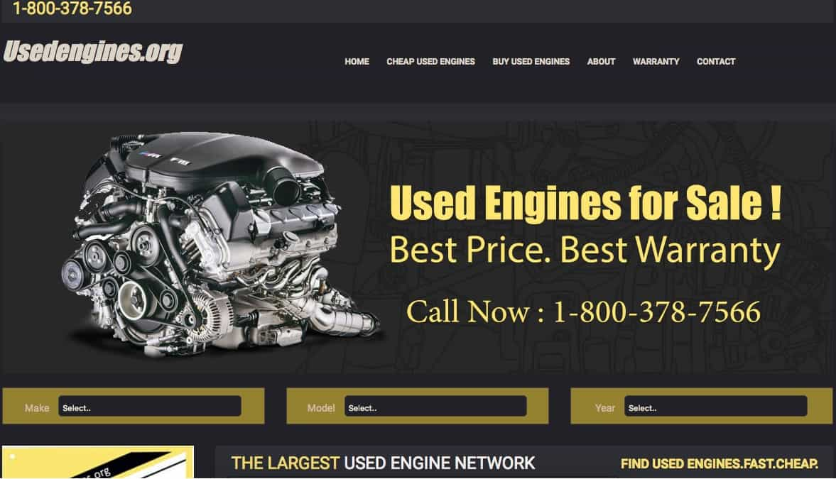 used engines is a great resource for cheap used engines