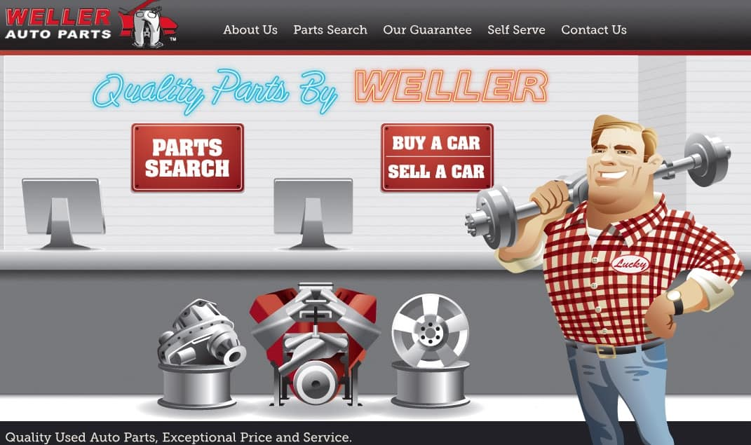 weller auto parts has access to a huge network of industry partners, so they're very likely to have any part you need