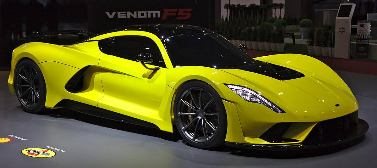 The Hennessey Venom F5 is the newest and fastest American sports car available