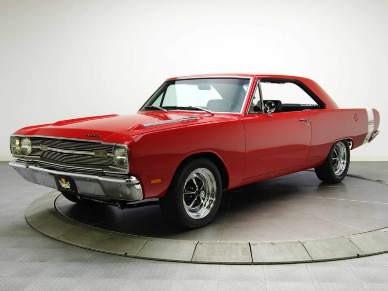 Dodge Dart Front 3/4 affordable muscle car