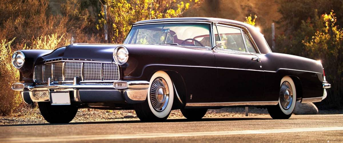 1956 Lincoln Continental Mark II - left front view