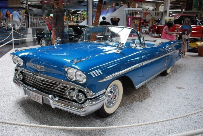 Chevrolet Impala - one of the top choices when it comes to classic cheap muscle cars