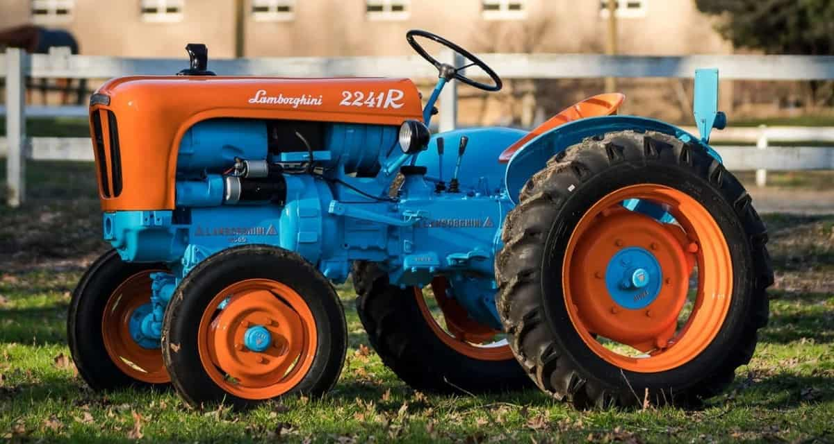 1960 Lamborghini 2241R Tractor - left side view