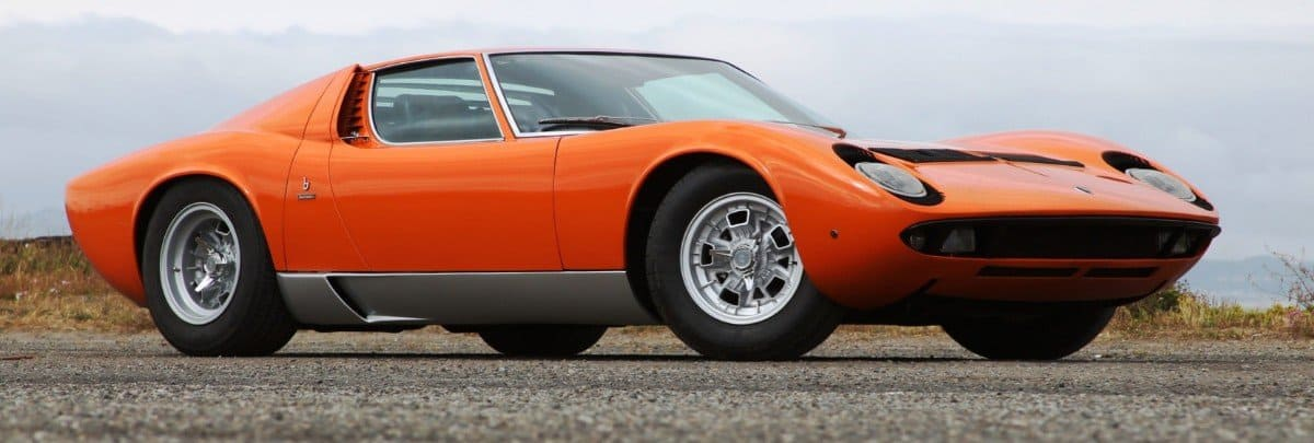 1969 Lamborghini Miura - right side view