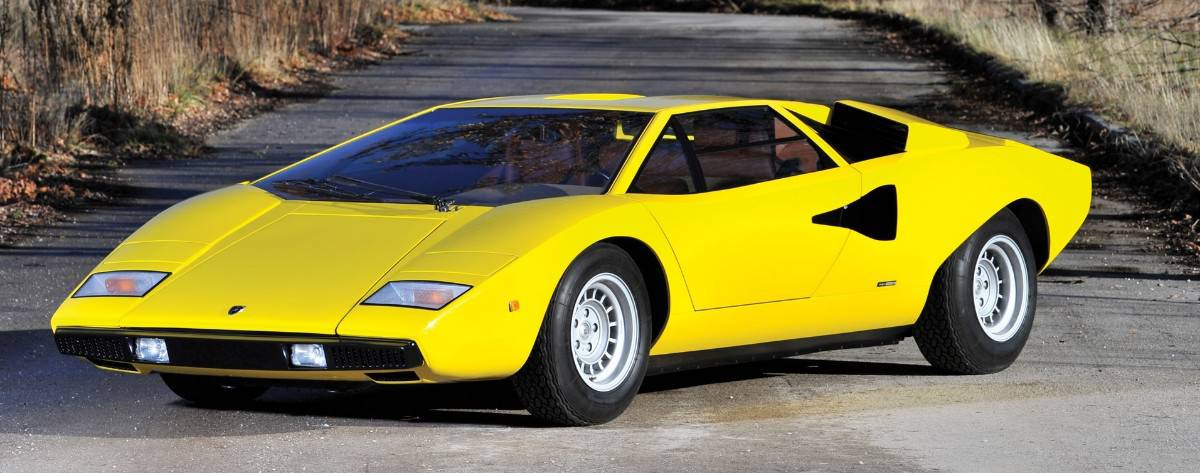 1975 Lamborghini Countach - left front view