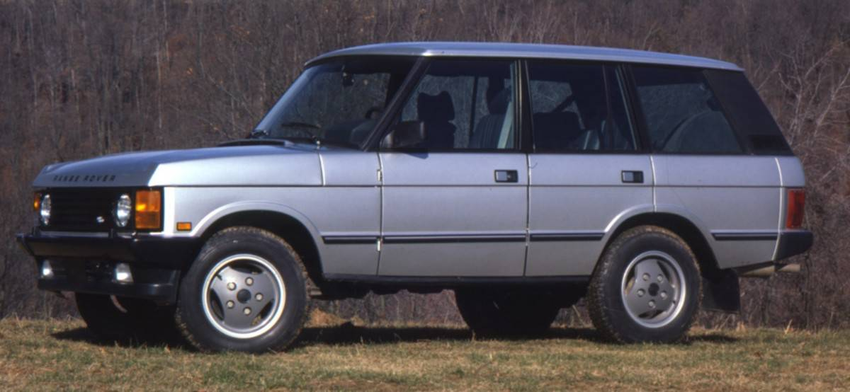 1987 Range Rover - left side view