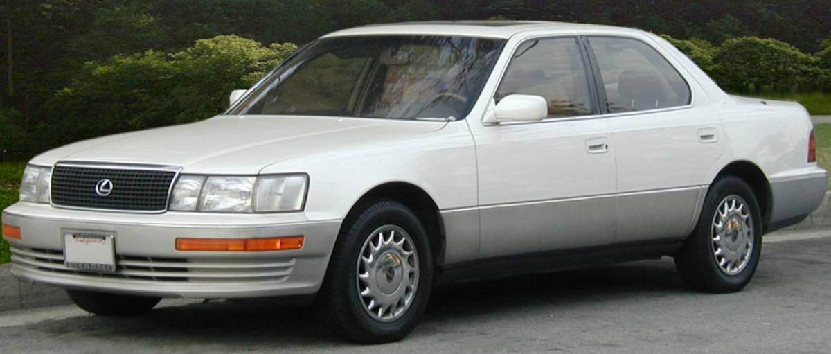 1990 Lexus Ls 400 Left Front View