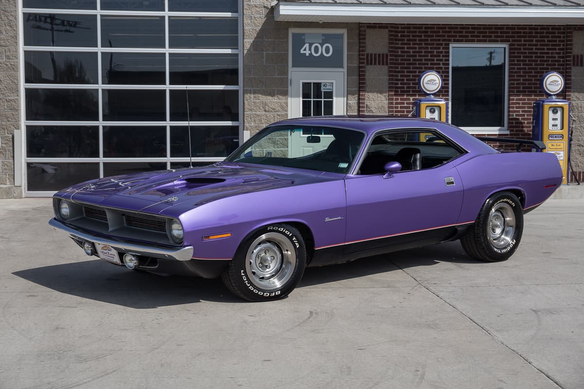 The 1970 Plymouth Barracuda was an absolute beast among American sports cars