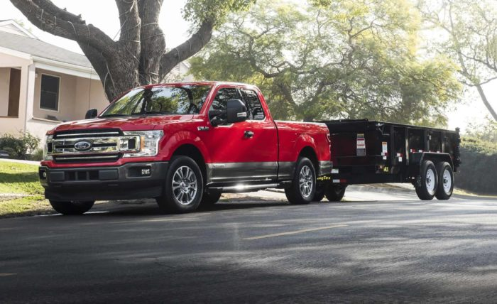Ford F150s make great platforms for show vehicles