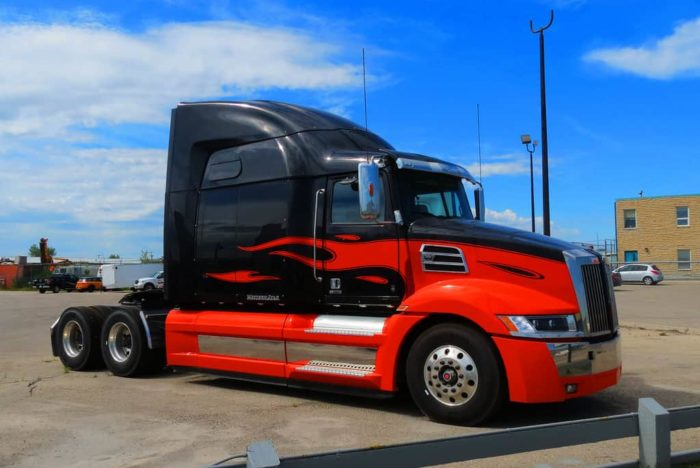 A custom paint job will help any show truck stand out from the crowd