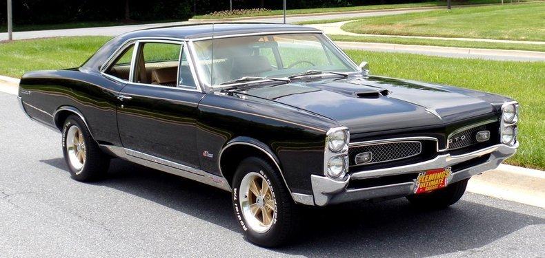 1967 Pontiac GTO Front 3/4