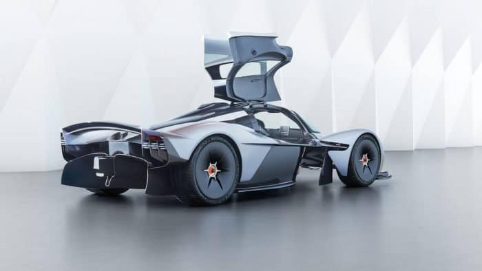 The Aston Martin Valkyrie is one of the most expensive sports cars on Earth