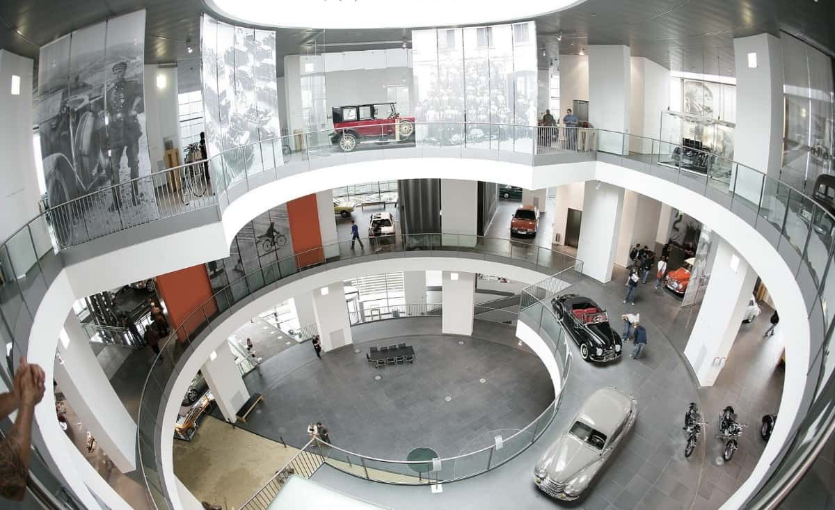 Audi museum mobile Ingolstadt, Bavaria
