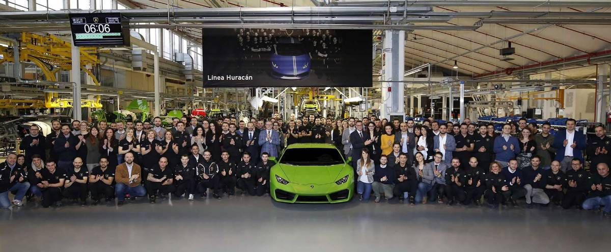 Automobili Lamborghini Top Employer Italia 2017