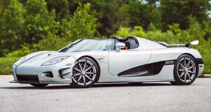The Koenigsegg CCXR Trevita is one of the most expensive sports cars on the planet