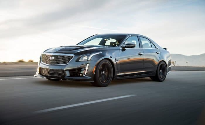 The 2018 Cadillac CTS-V is one of the most refined V8 engine cars out there