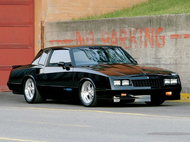 Chevrolet Monte Carlo '83-'86 cheap muscle car