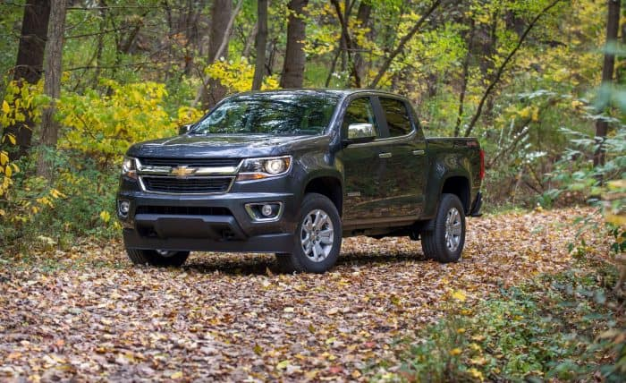 Chevy Colorado Front 3/4