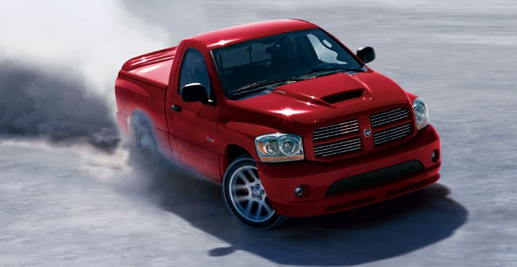 The Dodge Ram SRT-10 is one of the fastest production truckes ever made