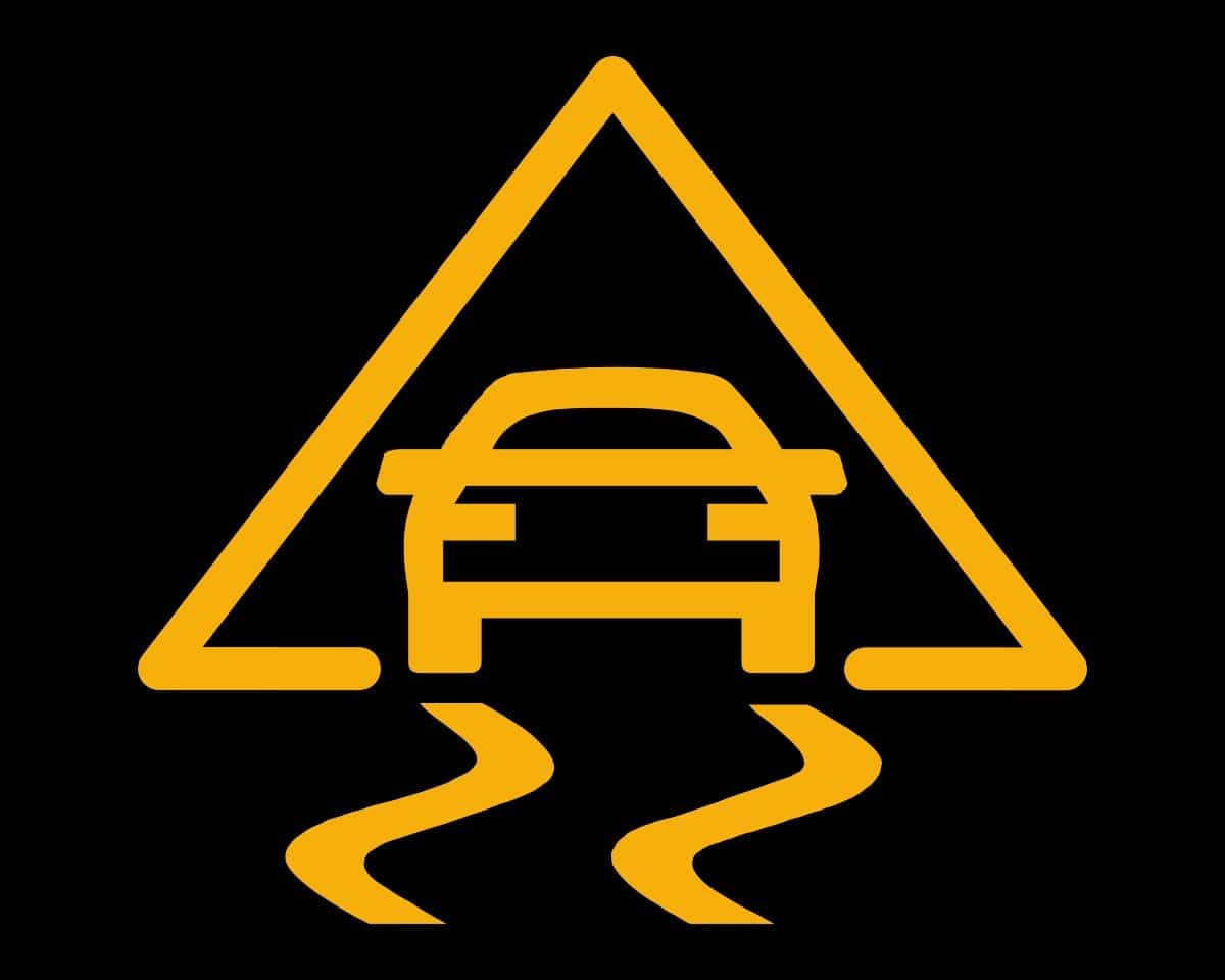 Electronic stability control - symbol