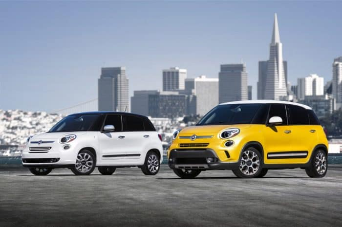 2017 Fiat 500L Lounge and 2017 Fiat 500L Trekking