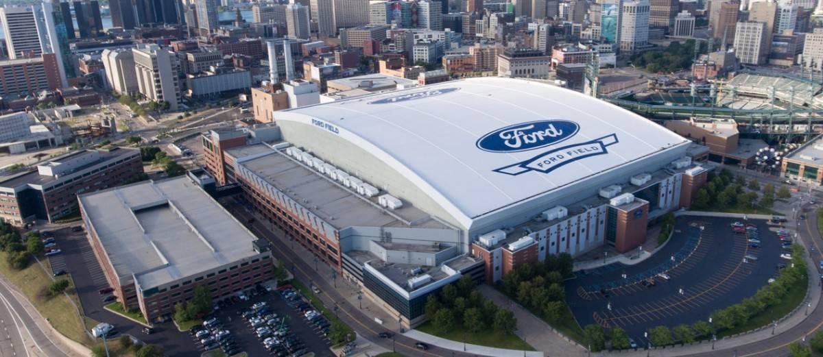 Ford Field Detroit MI